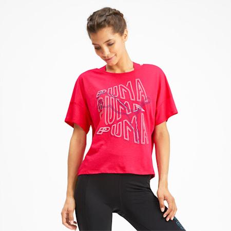 フィール イット SS ウィメンズ トレーニング Tシャツ 半袖, Nrgy Rose, small-JPN