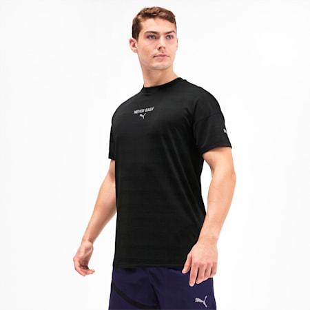 GET FAST ウインター SS ランニング Tシャツ 半袖, Puma Black Heather, small-JPN