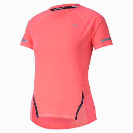 Camiseta de entrenamiento para mujer Runner ID, Ignite Pink, small
