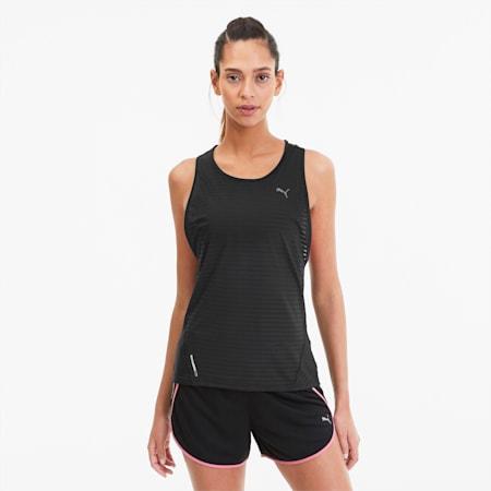 Camiseta sin mangas Summer Last Lap Excite para mujer, Puma Black, pequeño
