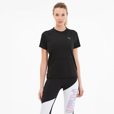 Camiseta Summer Last Lap Excite para mujer, Puma Black, pequeño