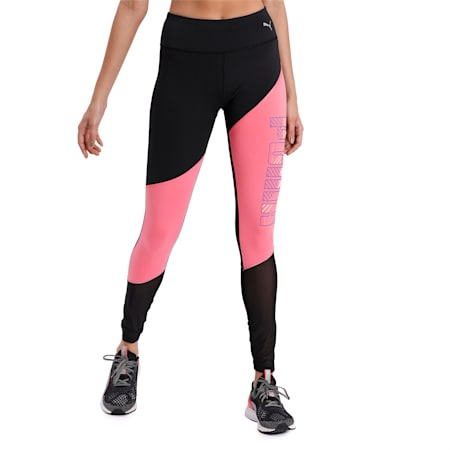 Last Lap Excite Summer dryCELL Tight, Puma Black-Bubblegum, small-IND