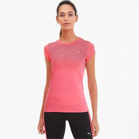 T-shirt da running da donna Last Lap Graphic, Ignite Pink, small