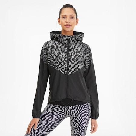 Last Lap Women's Hooded Jacket, Puma Black, small