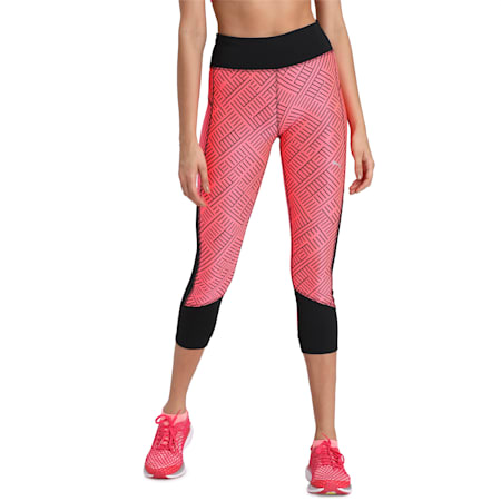 Last Lap 3/4 dryCELL Graphic Tight, Ignite Pink-Puma Black, small-IND