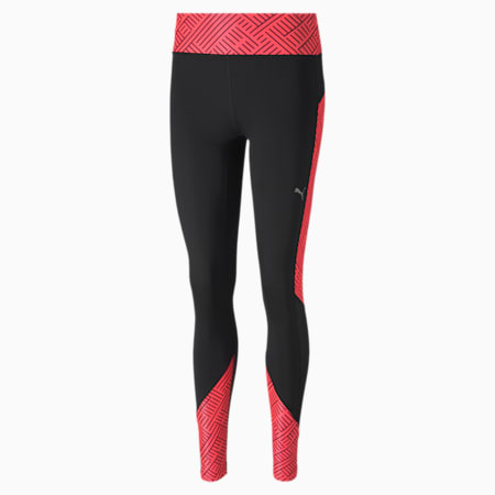 Last Lap Graphic dryCELL Long Tight, Puma Black-Ignite Pink, small-IND
