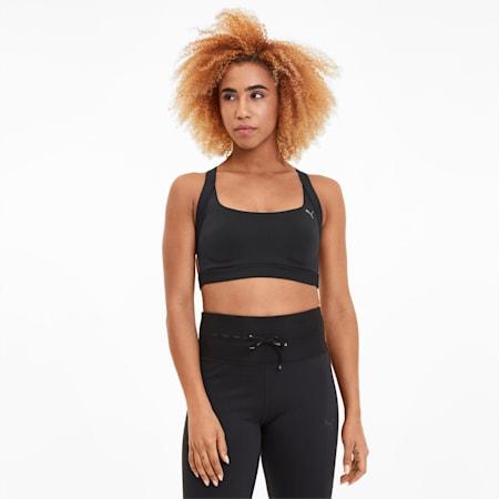 Thermo R+ Women's High Impact Bra, Puma Black, small