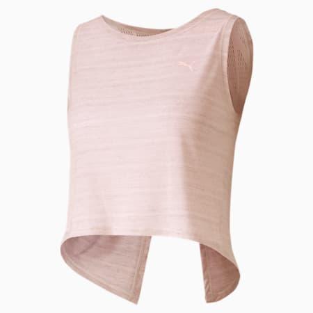 Studio Crop Lace Women's Tank Top, Rosewater, small-SEA