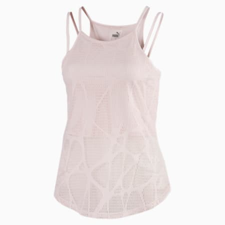 Top Studio Strappy Lace Training Tank pour femme, Rosewater, small