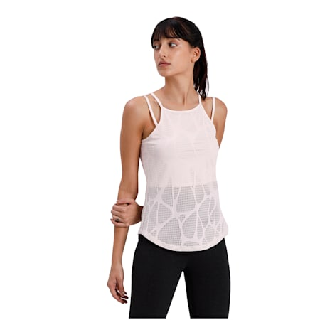 Studio Strappy Lace Women's Tank, Rosewater, small-IND