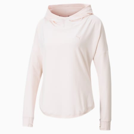 Studio Lace Women's Hoodie, Rosewater, small-IND