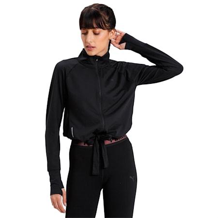 Studio Women's Adjustable Jacket, Puma Black, small-IND