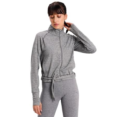 Studio Women's Adjustable Jacket, Medium Gray Heather, small-IND
