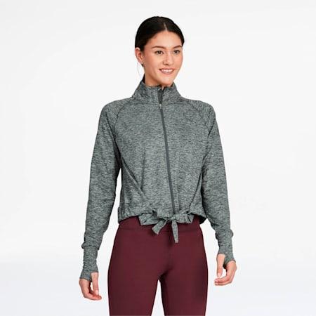 Studio Women's Adjustable Jacket, Medium Gray Heather, small