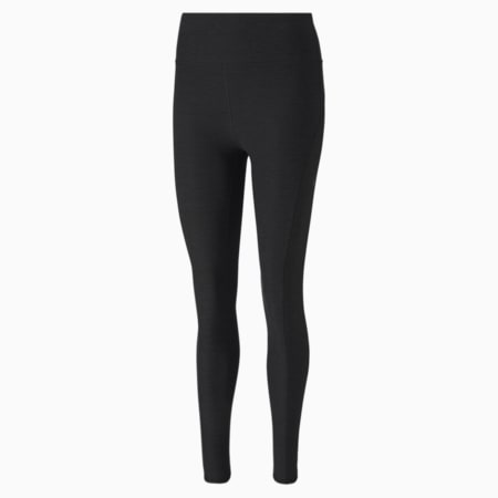 Luxe Eclipse Women's 7/8 Training Tights, Puma Black Heather, small-GBR