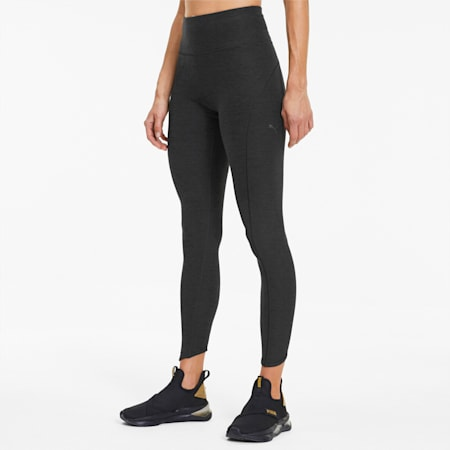 Luxe Eclipse Women's 7/8 Training Tights, Puma Black Heather, small