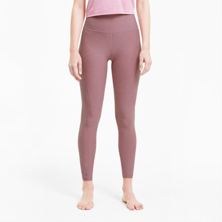 Luxe Eclipse Women's 7/8 Training Tights, Foxglove Heather, small