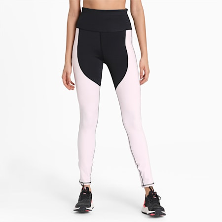 Studio Porcelain Full Women's Tight, Puma Black-Rosewater, small-IND