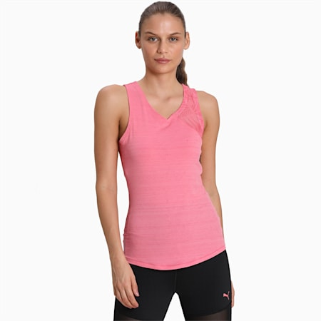Studio Graphic Mesh Women's Tank, Bubblegum, small-IND