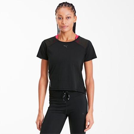 Be Bold Women's Mesh Tee, Puma Black, small