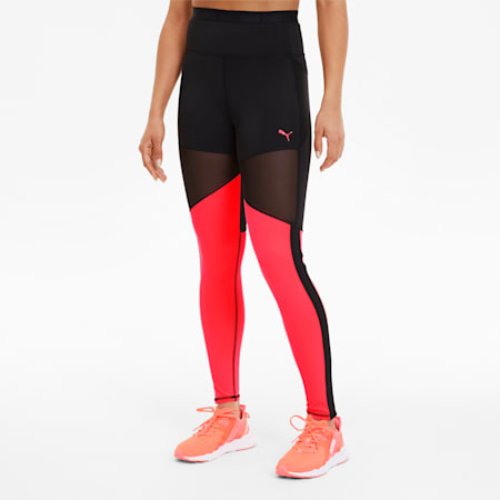 Be Bold THERMO R+ Women's Training Tights, Puma Black-Ignite Pink, small-SEA