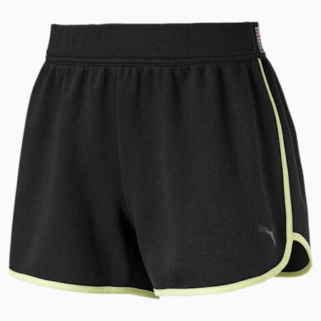 Feel It Elastic Women's Training Shorts, Puma Black, small-SEA