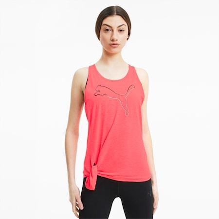 Women's Tie Logo Tank, Ignite Pink, small