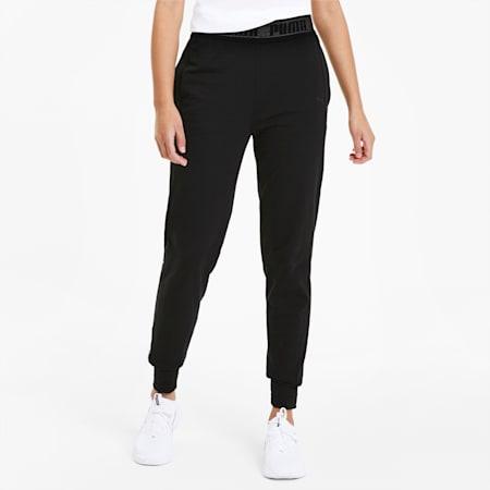 Logo Women's Sweatpants, Puma Black, small