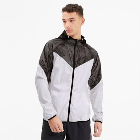 Last Lap Men's Graphic Jacket, Puma White, small