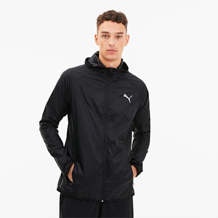 Last Lap Lightweight Men's Running Jacket, Puma Black, small
