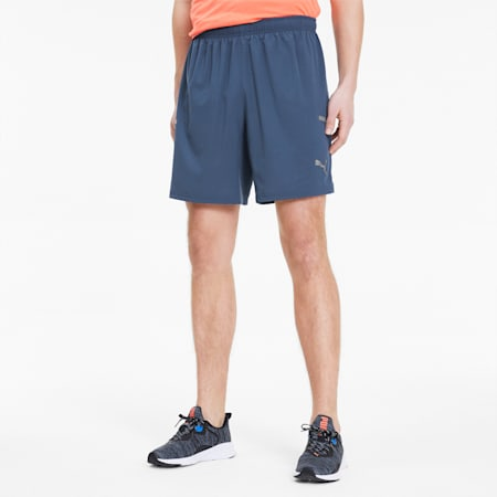 Runner ID Men's Shorts, Dark Denim, small