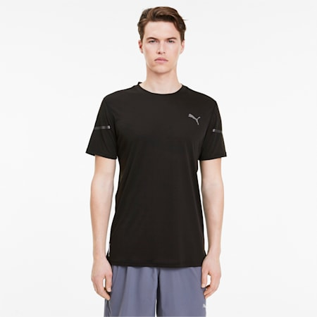 Runner ID Thermo R+ T-Shirt, Puma Black, small-IND