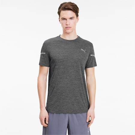 Runner ID Thermo R+ T-Shirt, Dark Gray Heather, small-IND