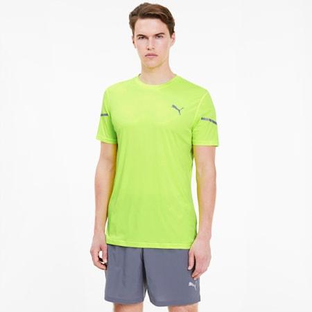 Camiseta Runner ID Thermo R+ para hombre, Yellow Alert, pequeño