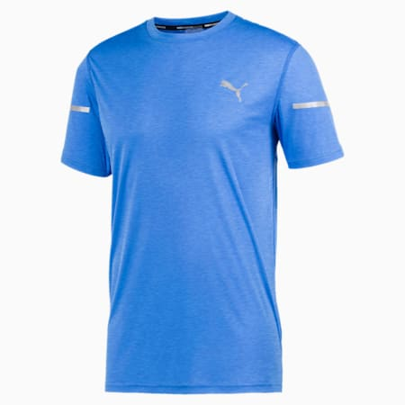 Runner ID Thermo R+ Men's Tee, Palace Blue, small