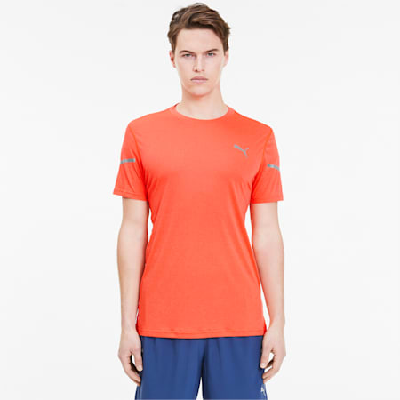 Runner ID Thermo R+ T-Shirt, Lava Blast, small-IND