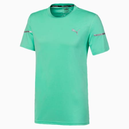 T-shirt Runner ID Thermo R+, homme, Vert scintillant, petit