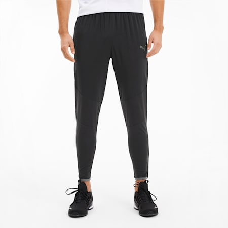 Last Lap Tapered Men's Running Sweatpants, Puma Black, small