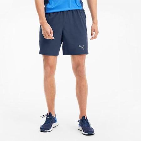 "IGNITE Session 7"" Men's Running Shorts, Dark Denim, small"