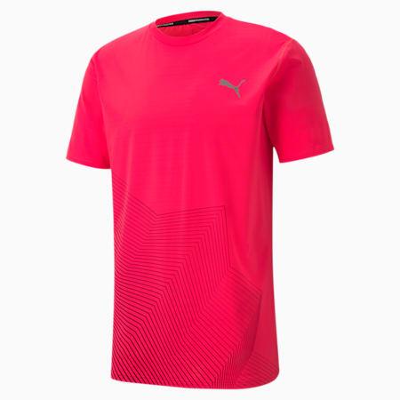 Last Lap Graphic Men's Running Tee, Ignite Pink, small-SEA