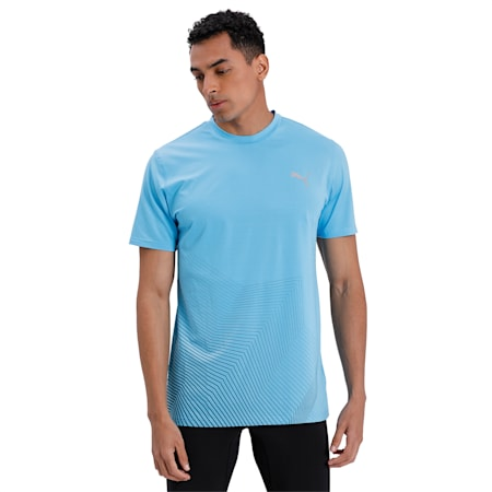 Last Lap Graphic dryCELL T-Shirt, Ethereal Blue, small-IND