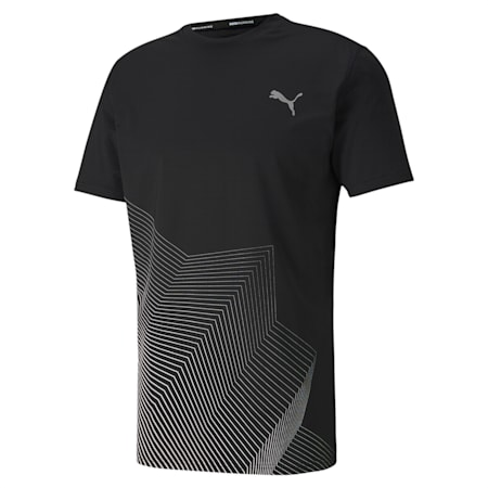Last Lap Graphic dryCELL Performance Fit T-shirt, Puma Black, small-IND