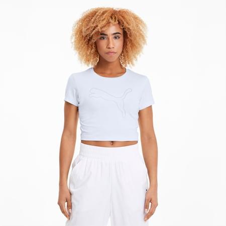 Puma Essential Cropped Logo Tee dames T shirt online