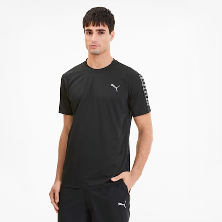 Power THERMO R+ Men's Training Tee, Puma Black, small-SEA