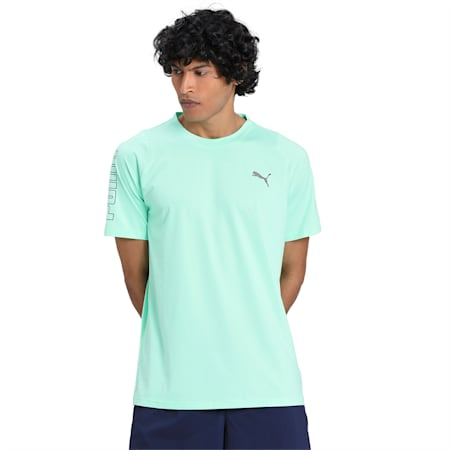 Power THERMO R+ dryCELL Men's Training T-Shirt, Green Glimmer, small-IND