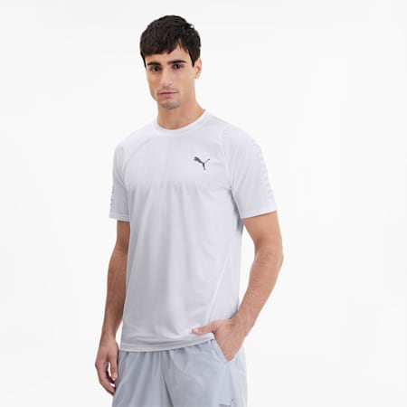 Power Thermo R+ Men's Training Tee, Puma White, small