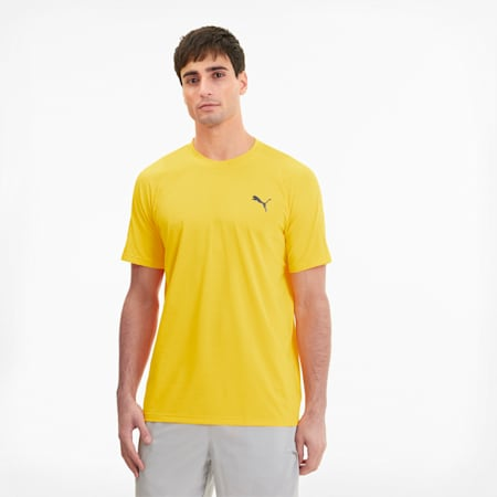 Power Thermo R+ Men's Training Tee, ULTRA YELLOW, small