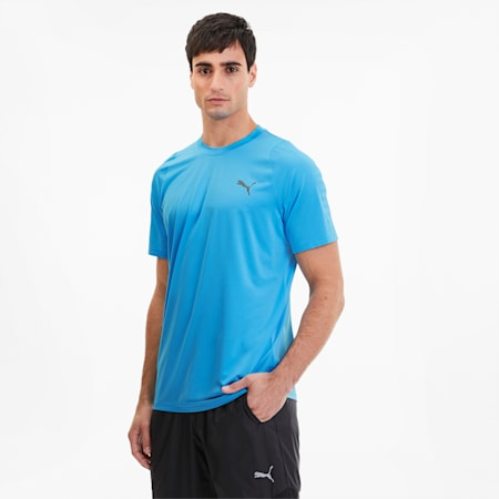 Power Thermo R+ Men's Training Tee, Ethereal Blue, small