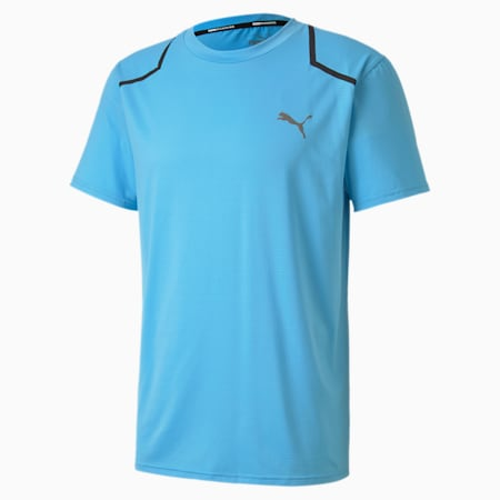 Power BND Men's Training Tee, Ethereal Blue, small-SEA
