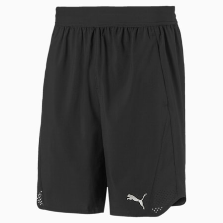 Power THERMO R+ Vent Men's Training Shorts, Puma Black, small-SEA